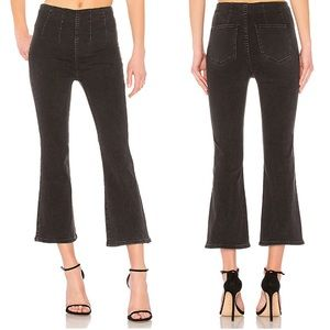 Free People Ultra High Pull On Crop Boot Pants